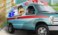 Ambulance Truck Drive...