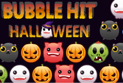 Bubble Hit Halloween